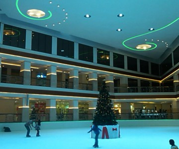 Hyatt Regency Galleria Ice Rink